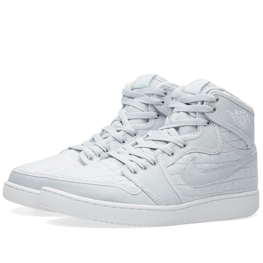 8148652afdf47d Nike Air Jordan 1 KO High OG. Pure Platinum   White. £125 £55