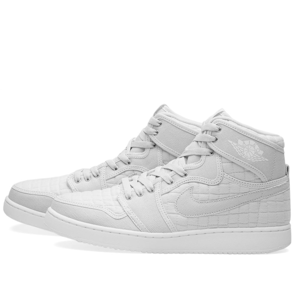 60f147c5baf368 Nike Air Jordan 1 KO High OG Pure Platinum   White