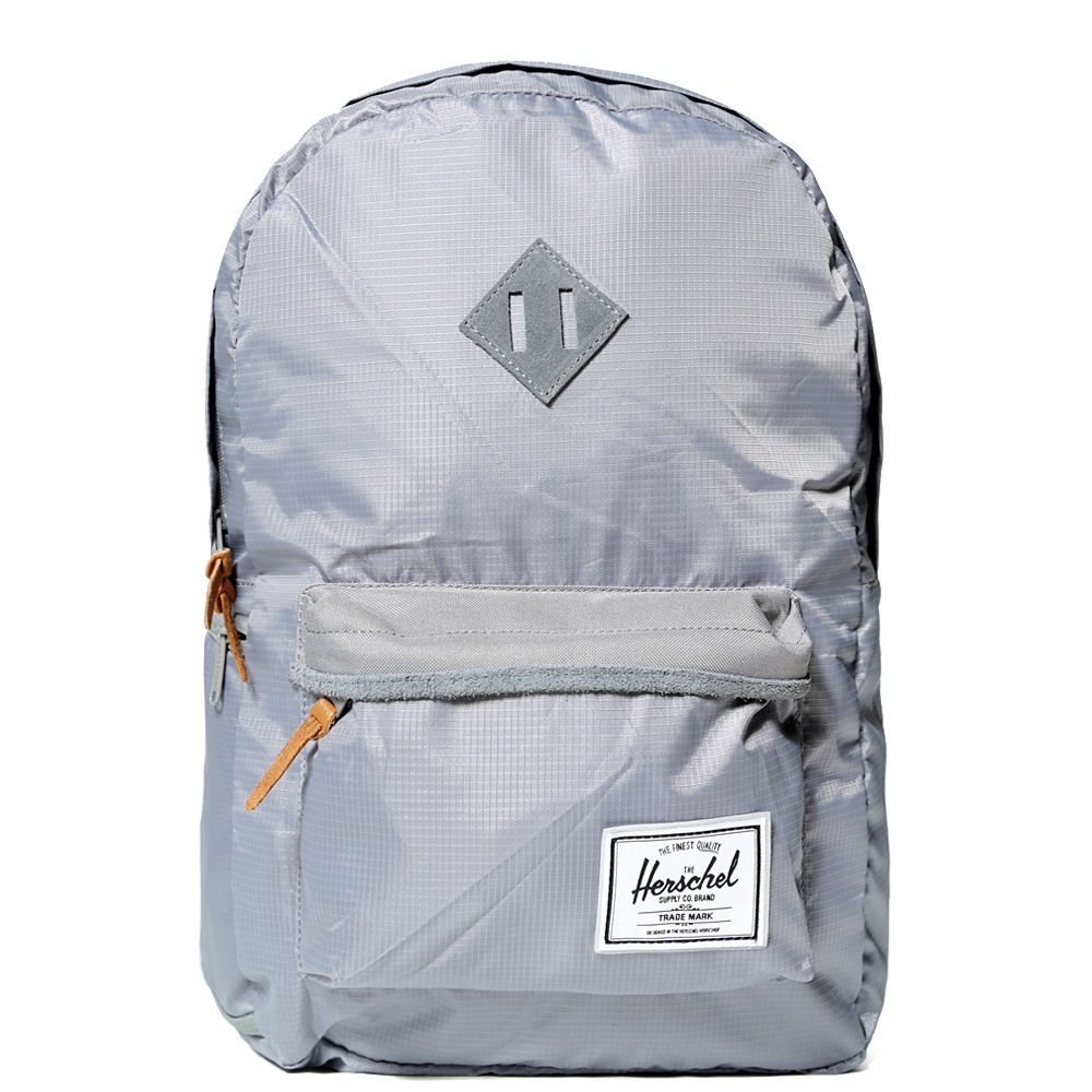 08abee2808e Herschel Supply Co. x New Balance Heritage Plus Back Pack. Grey Ripstop