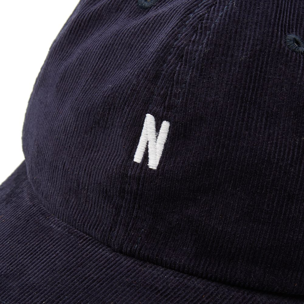 Norse Projects Corduroy Sports Cap. Dark Navy.  75. Plus Free Shipping.  image e50a9145307