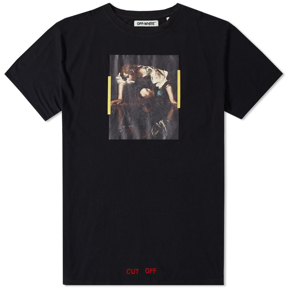 64c088e77a6c Off-White Narciso Tee Black