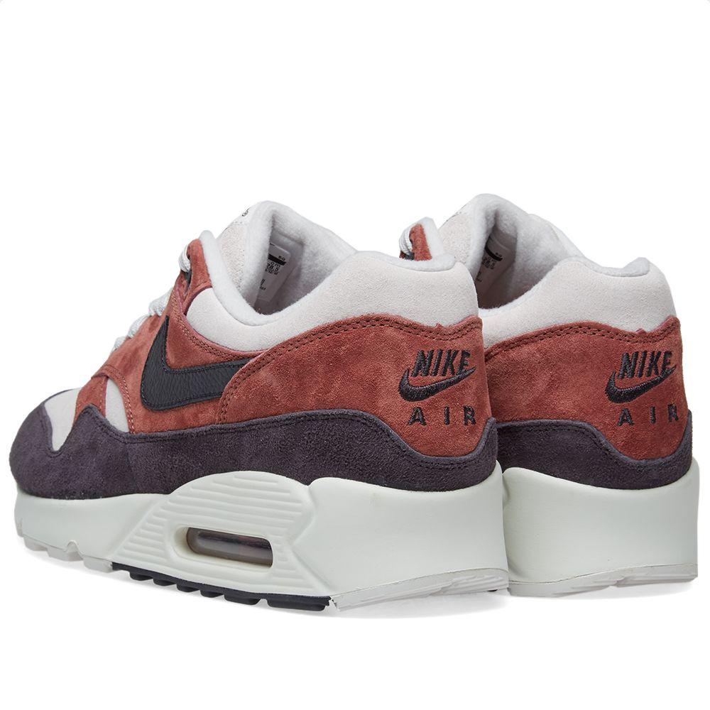 8d6f34b4a0c6 Nike Air Max 90 1 W Red Sepia