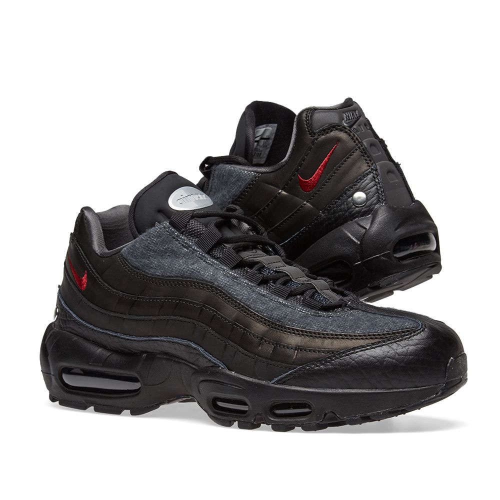 reputable site 08c33 92991 amazon nike air max 95 black and red 329c9 fb765