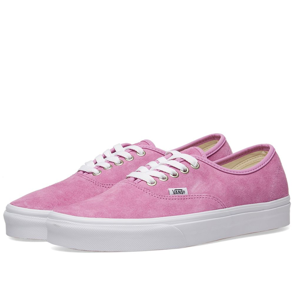 4a1e8c935e Vans Authentic Pig Suede Violet   True White