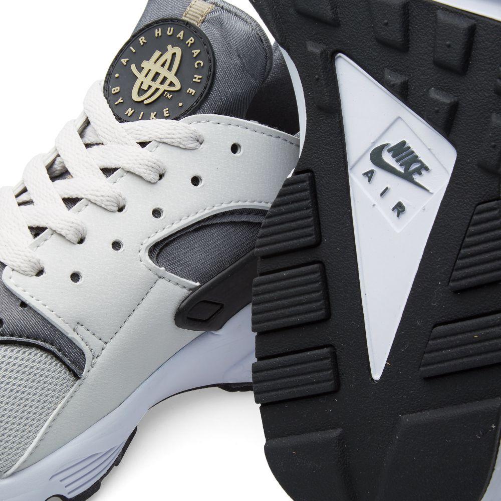 1175219cca96 Nike Air Huarache Light Ash Grey   Black