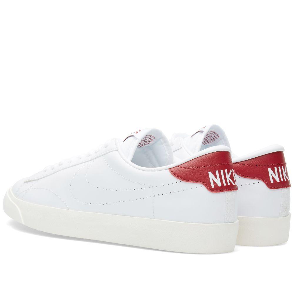 Nike Tennis Classic AC. White   Chianti. S 115. image. image. image. image.  image. image 45481747b173
