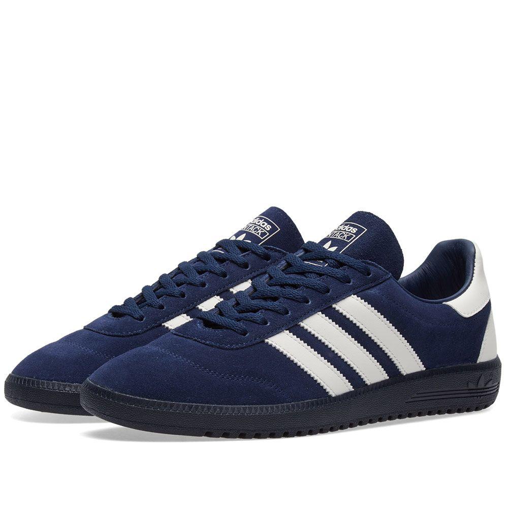 best sneakers 7d1b0 4669a Adidas SPZL Intack Night Indigo  Chalk White  END.