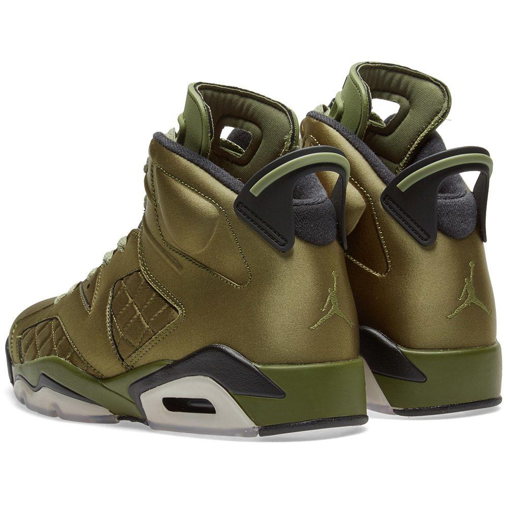12d3c4291d50 Nike Air Jordan 6 Retro Pinnacle Palm Green   Black