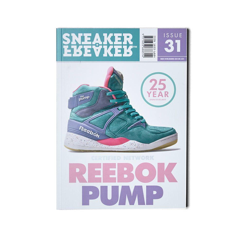 63db37cf3962 Sneaker Freaker Issue 31 Reebok Pump