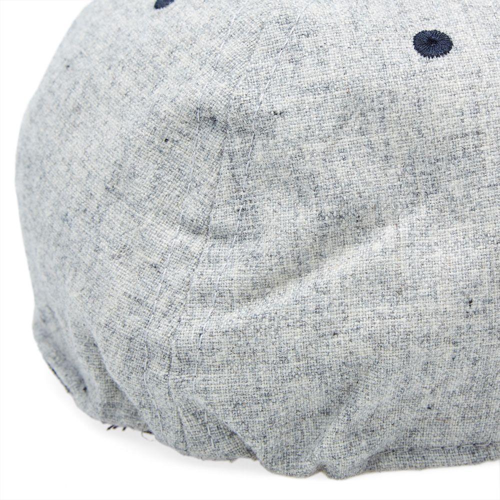 9ddf50a33bf WTAPS x Ebbets Field Flannels Tropical Melton Wool Ball Cap Grey