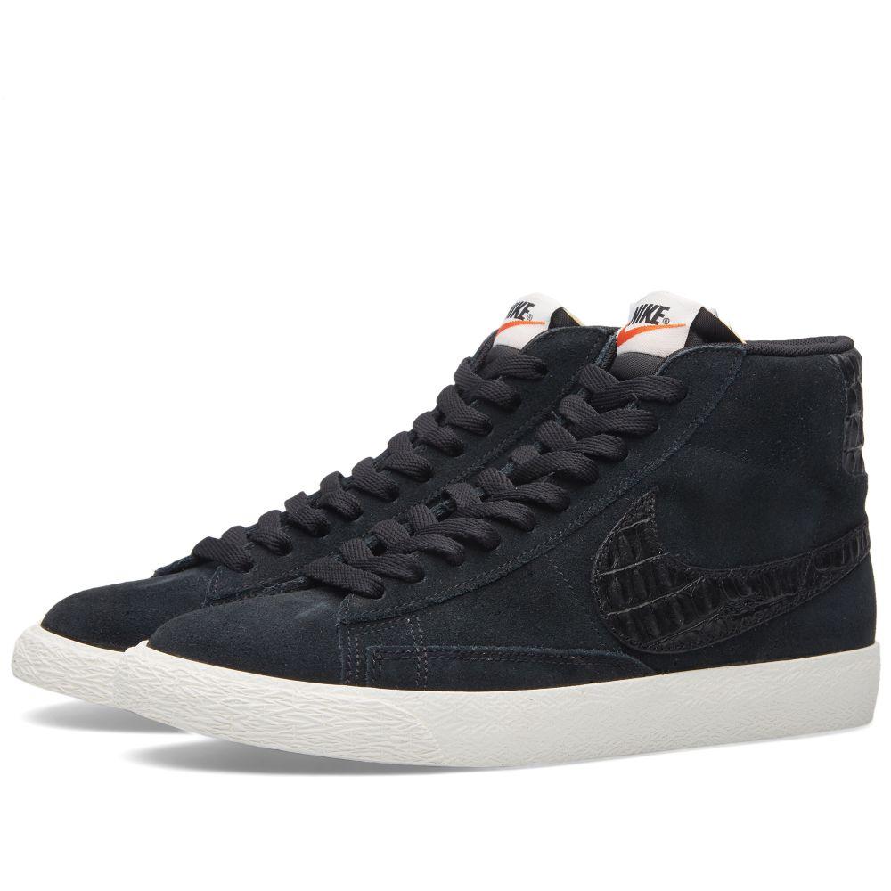 separation shoes 5cd49 543f0 Nike Blazer Mid PRM VNTG Black  Sail  END.