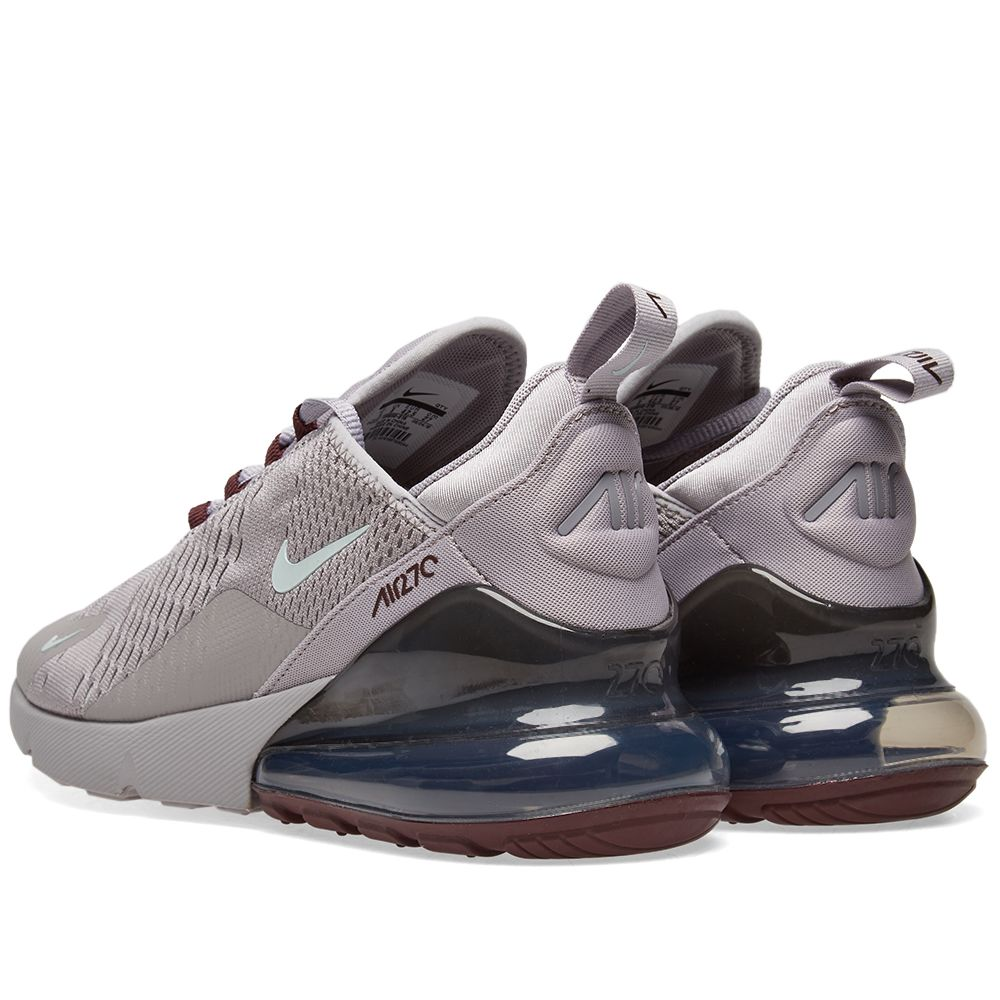 info for 15987 f506b ... sale nike air max 270. grey silver burgundy. 115. image. image.