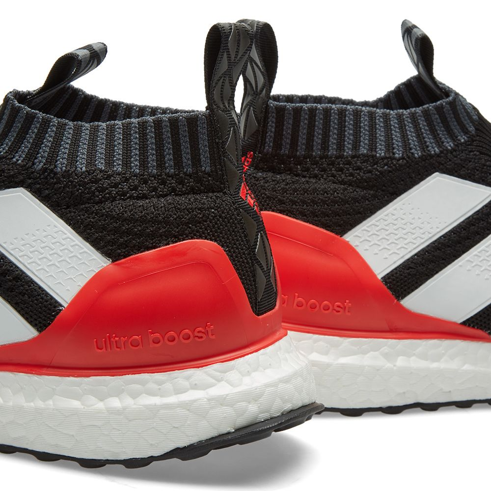 new style 1d72b 18252 Adidas Ace 17+ PureControl Ultra Boost. Core Black, White  Red