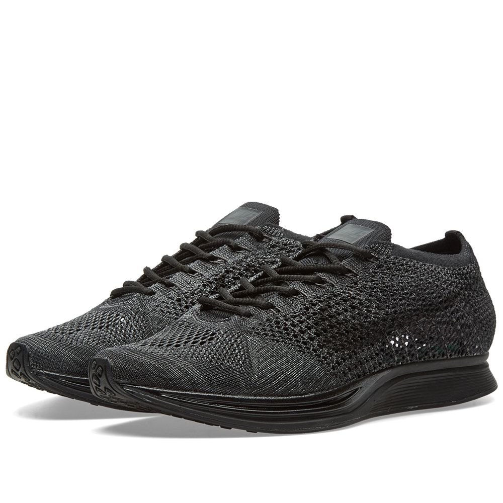 8574cdde4a23f Nike Flyknit Racer Black   Anthracite