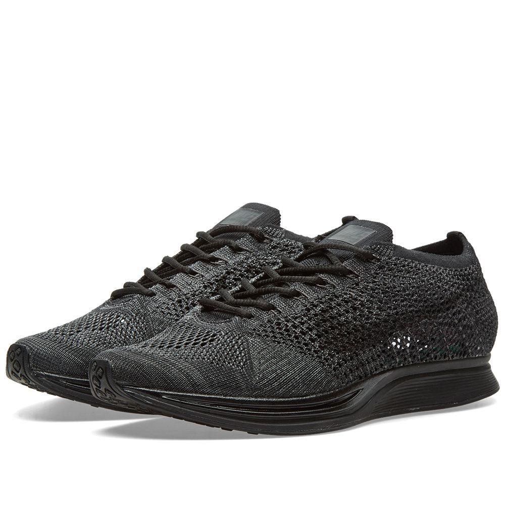 Nike Flyknit Racer Black   Anthracite  9e14b6df4