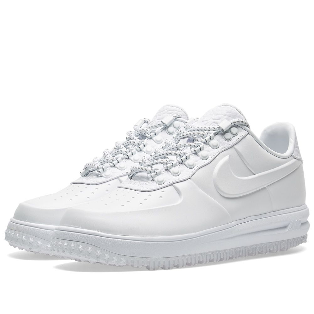 Nike Lunar Force 1 Duckboot Low Ibex White  9302acd264