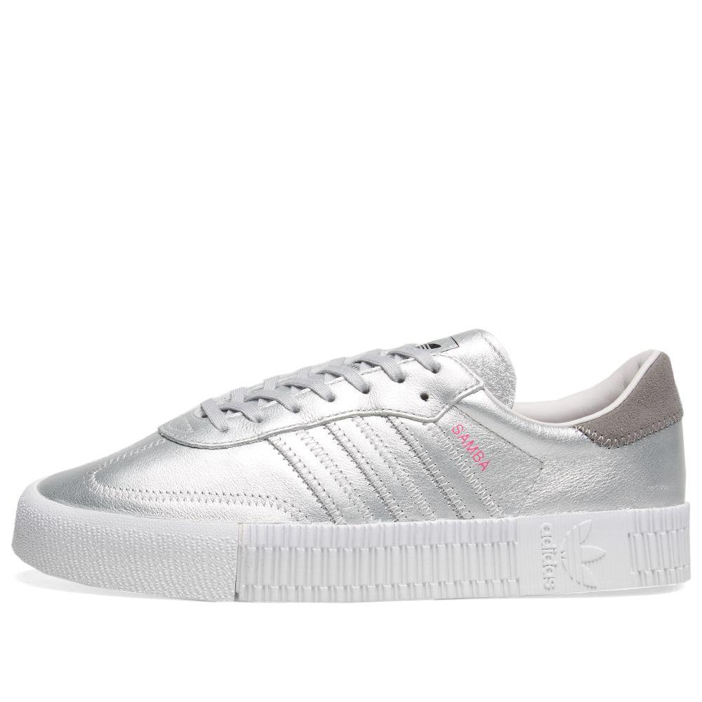 Adidas Sambarose W Metallic Silver   Orchid Tint  bce065495