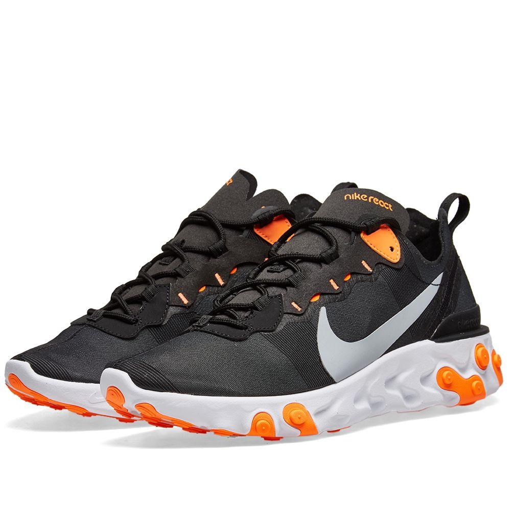 3a5c05bb0ed2 Nike React Element 55 Black