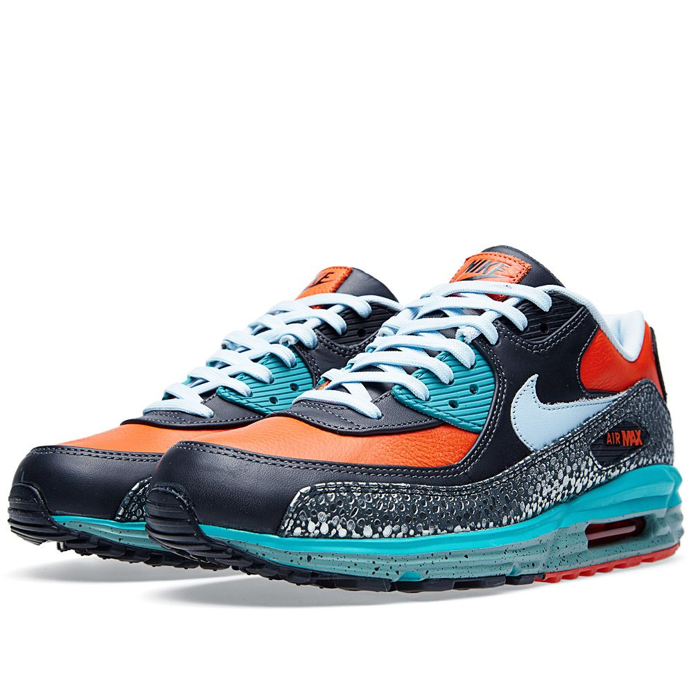 f6dc3dd69956 Nike Air Max Lunar 90 Deluxe QS  Kabutomushi  Team Orange