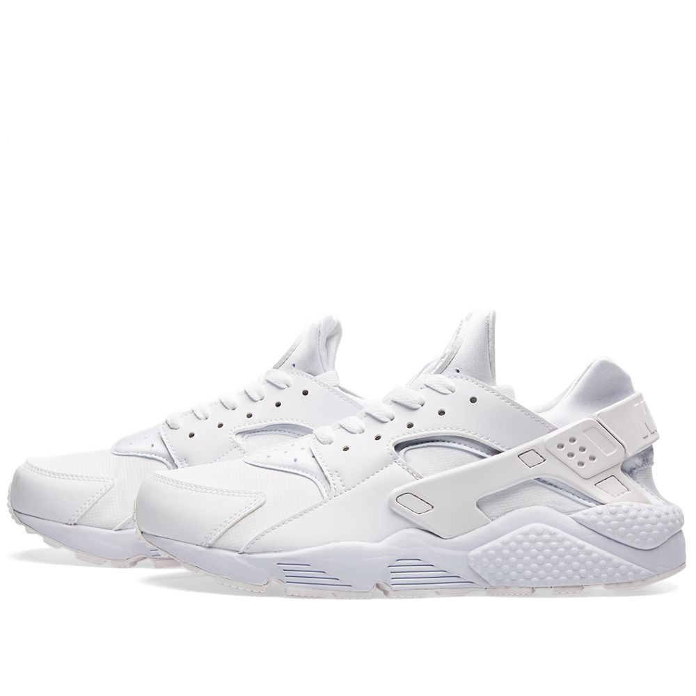 buy popular 18683 101e1 Nike Air Huarache Triple White   END.