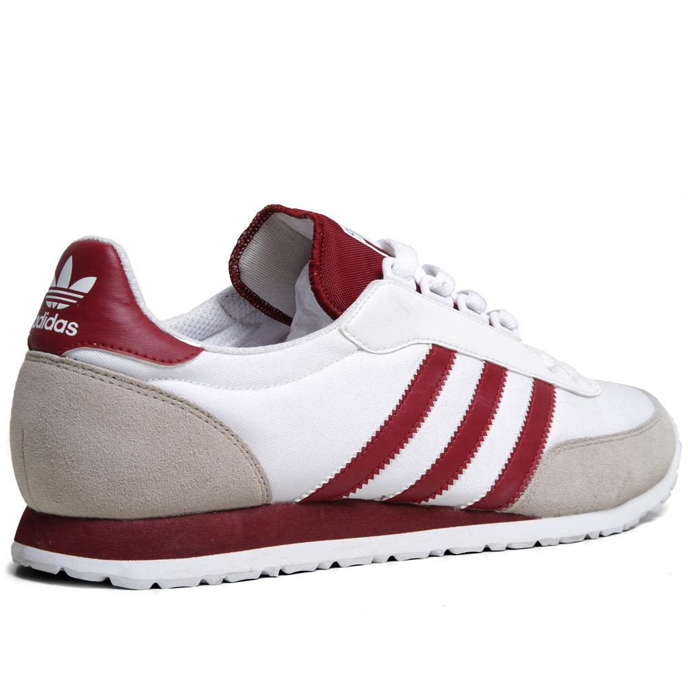 best sneakers eb2d0 5aa5c Adidas Potosino - Pre Order Running White   Cardinal   END.