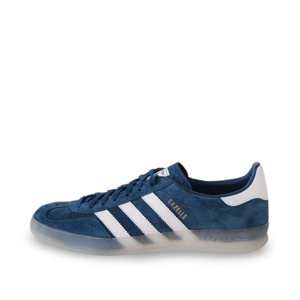 5bf7d78877f Adidas Gazelle Indoor Tribe Blue   Running White