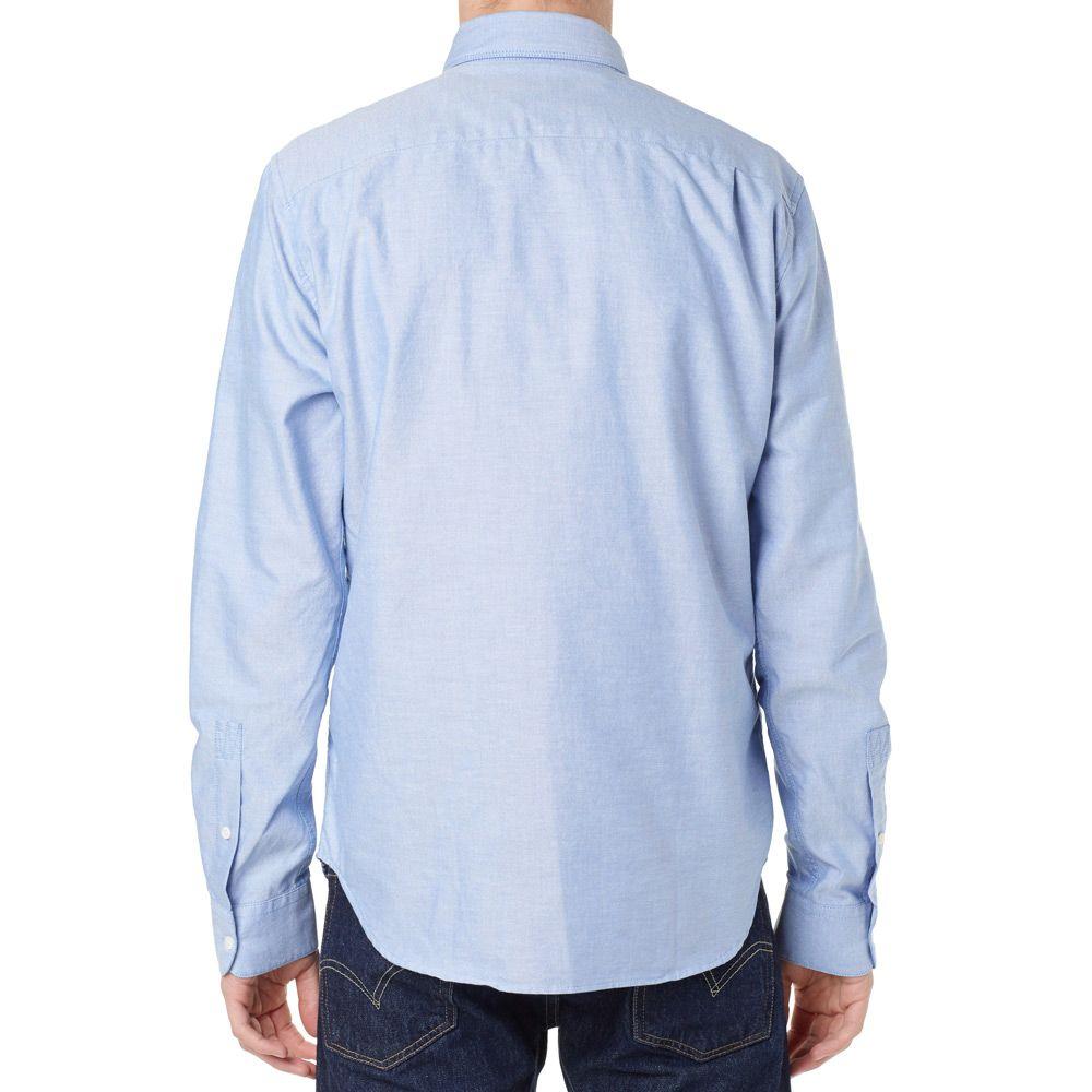 c1618f9d1b4 Woolrich Button Down Oxford Shirt Night Shadow