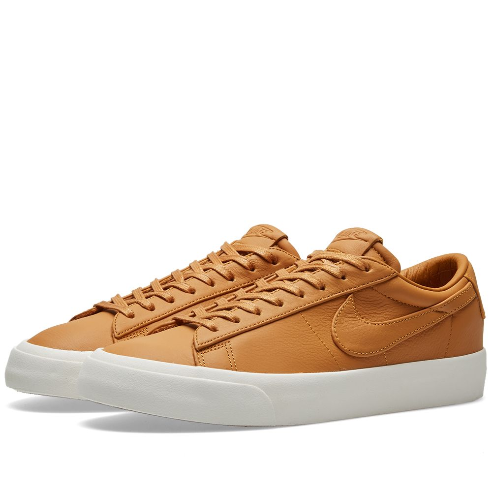 new product 028f7 4a155 NikeLab Blazer Studio Low Desert Ochre   Sail   END.