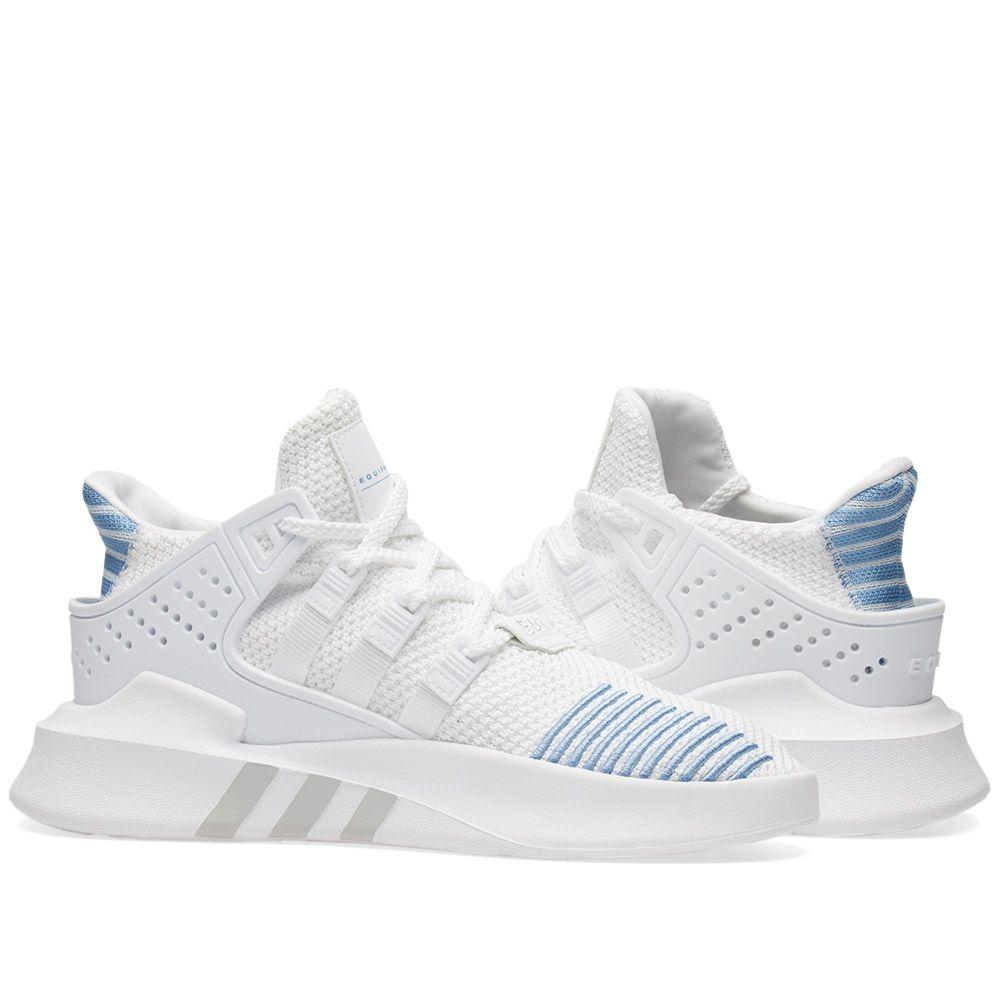 new arrivals 0e133 f3656 Adidas EQT Bask ADV W. White  Ash Blue