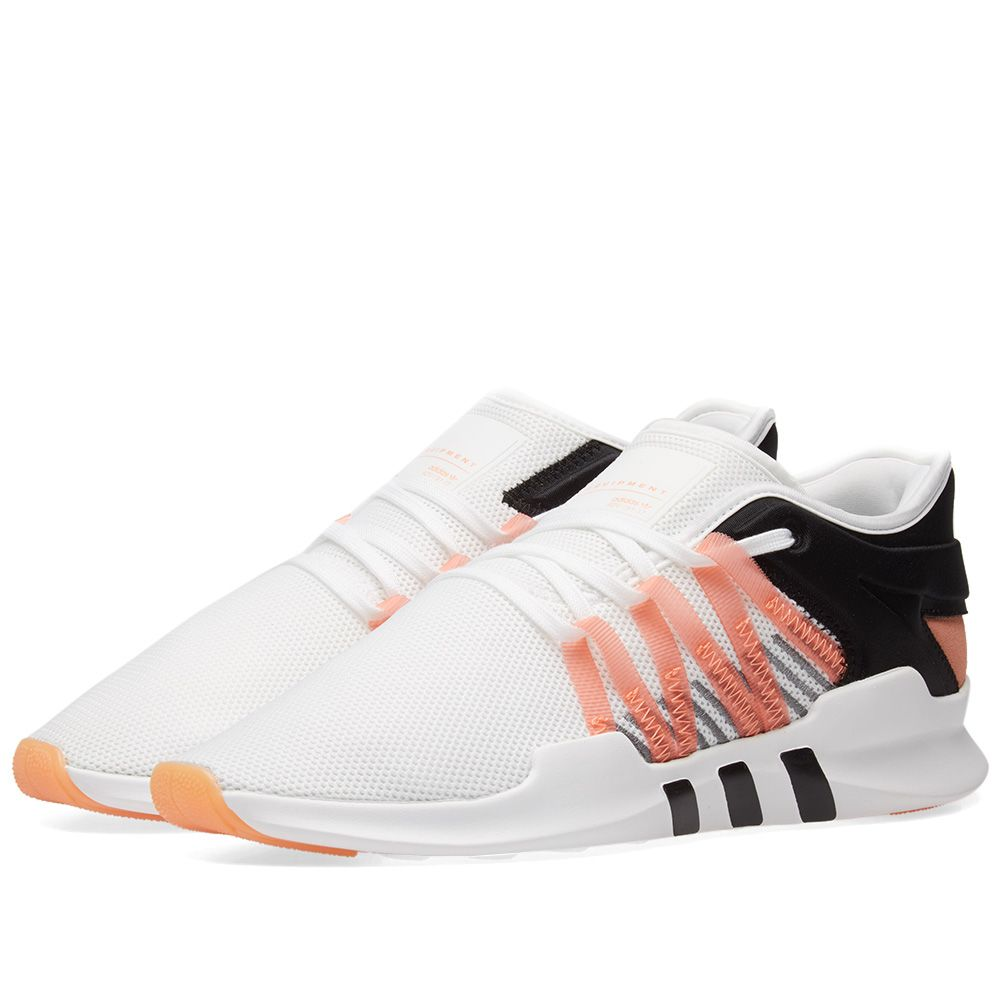 best service 98ee3 c91bf Adidas EQT Racing ADV W White, Chalk Coral  Black  END.
