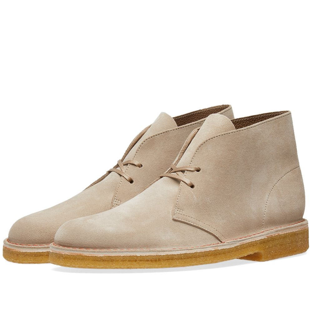 6a69be32e Clarks Originals Desert Boot - Made in Italy Sand Suede