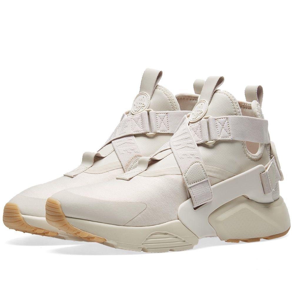 reputable site b2aa3 7c851 Nike Air Huarache City W Desert Sand, White Gum  Brown  END.