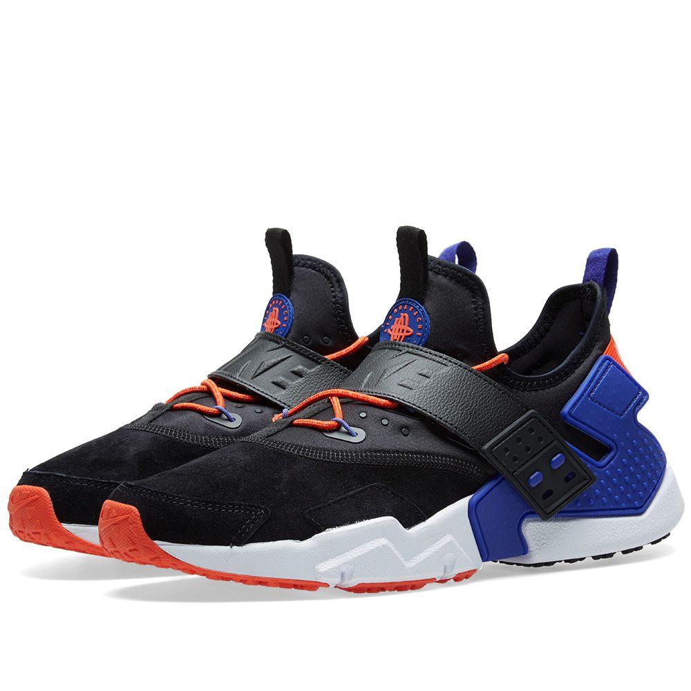 pretty nice 8a1b9 3c3fd Nike Air Huarache Drift Premium. Black, Rush Violet   Orange. DKK925  DKK609. image