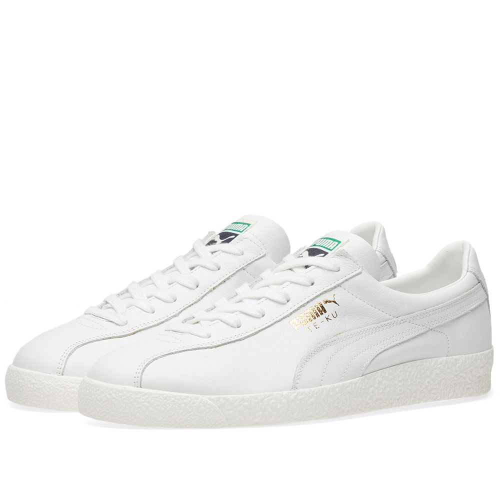 edbac304f5f499 Puma Te-Ku Leather Puma White