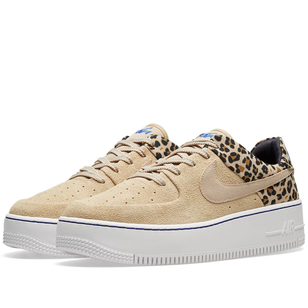 finest selection 9113f 94723 Nike Air Force 1 Sage Lo Premium Animal Pack Desert Ore  END