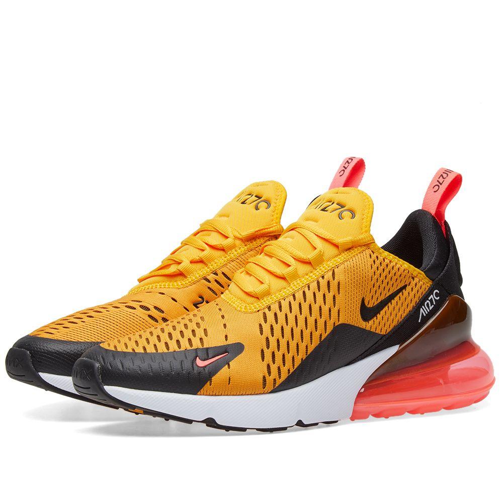 Nike Air Max 270 Black   University Gold  7cc3a16f7