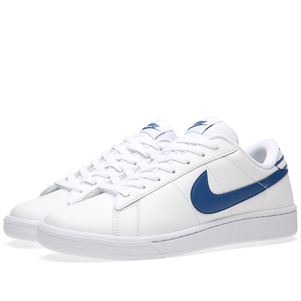Nike Tennis Classic CS White   Gym Blue  e46f3e85f