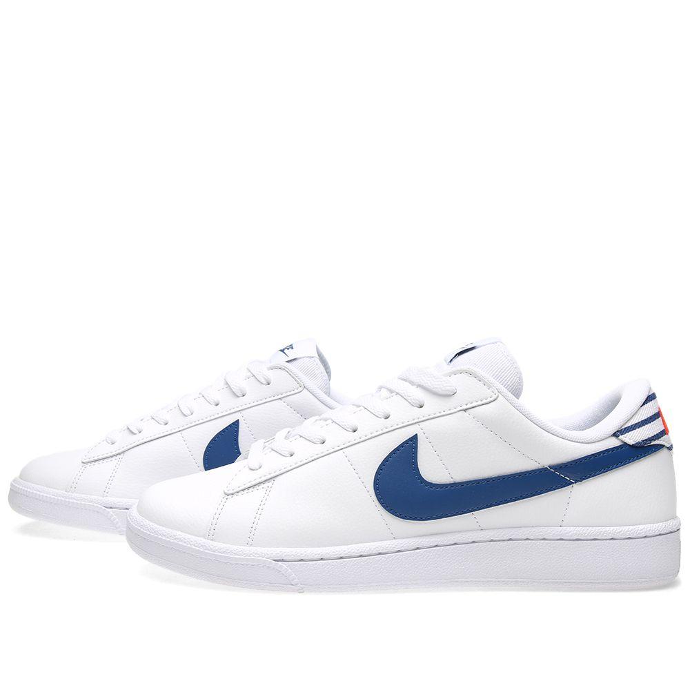 Nike Tennis Classic CS. White   Gym Blue. £72. image 80c4c262a