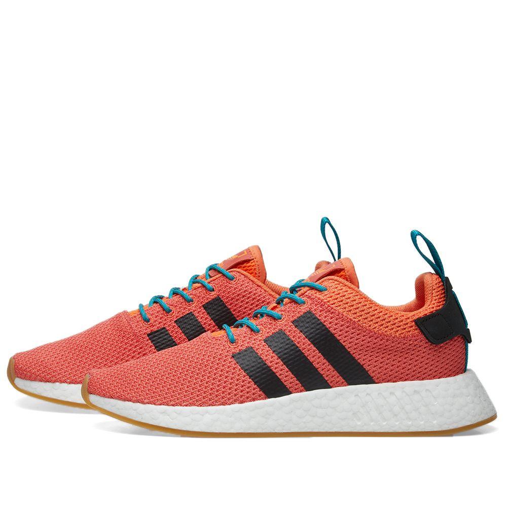 f93d5552cc1d Adidas NMD R2 Summer. Orange ...
