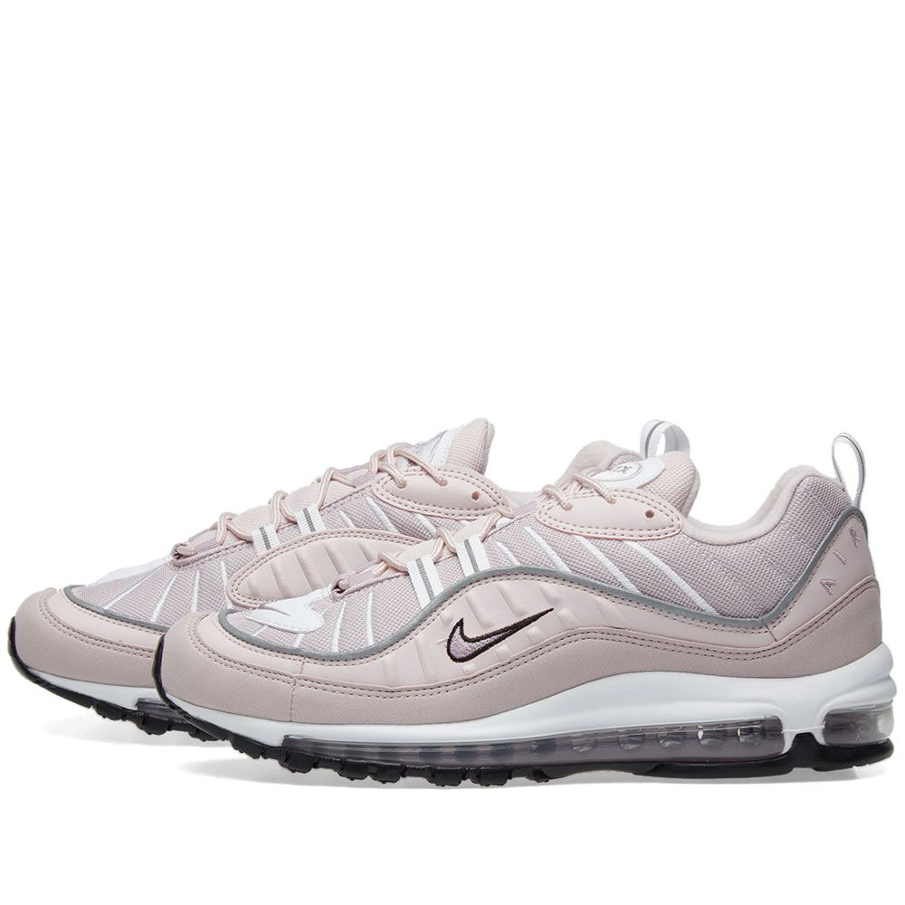 finest selection fb8fd 11b7f Nike Air Max 98 W Barely Rose, Silver  White  END.