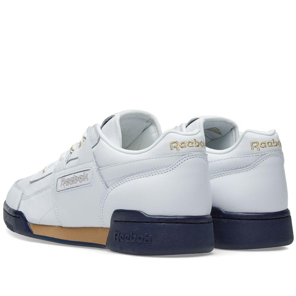 83734414b08 Reebok x Beams Workout Lo Plus White