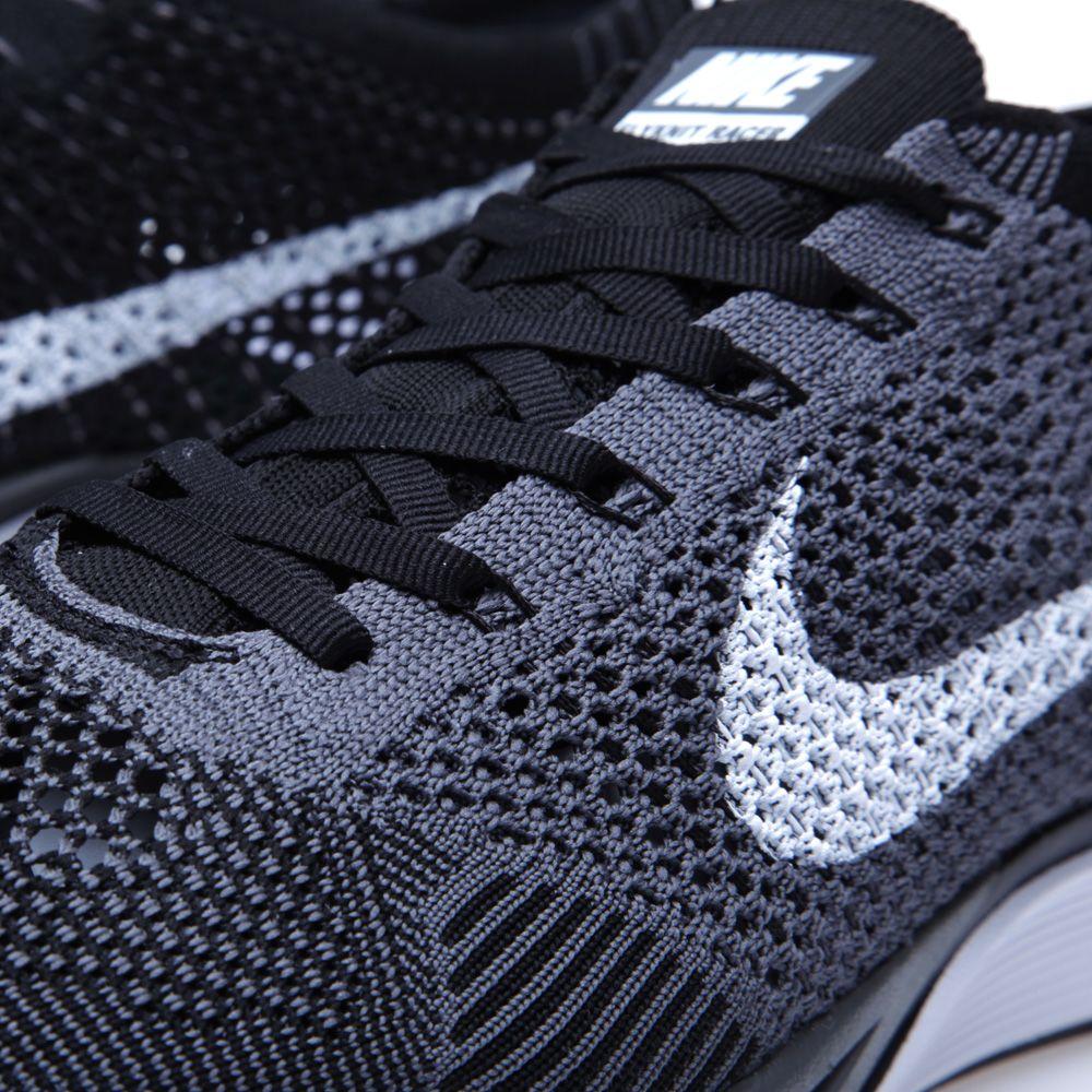 ce7a5685cdba5 Nike Flyknit Racer Dark Grey