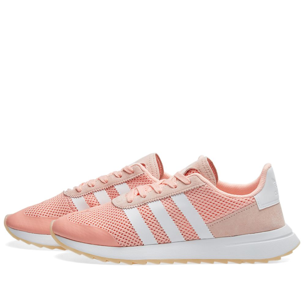 best service 12d76 78875 Adidas Womens Flashback W Haze Coral  END.