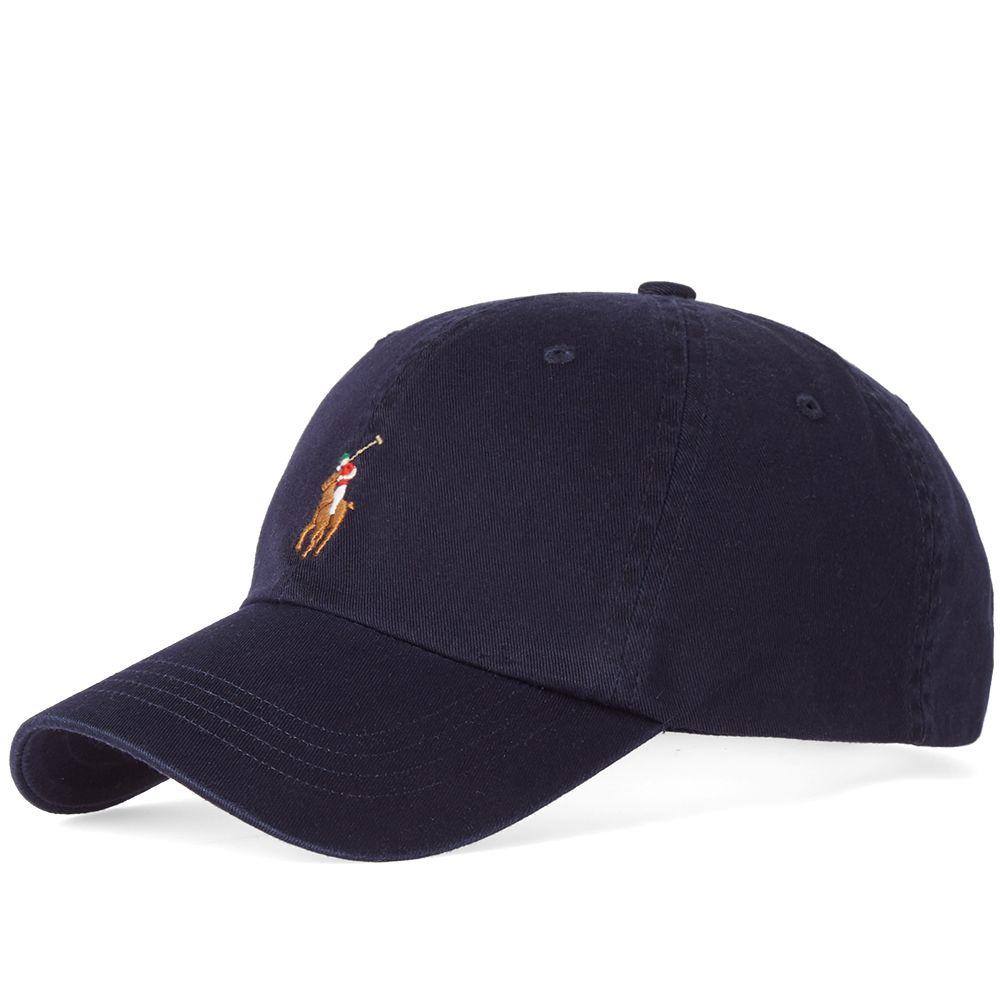 d8be2cc4771 Polo Ralph Lauren Classic Baseball Cap. Relay Blue   Multi. S 49. image