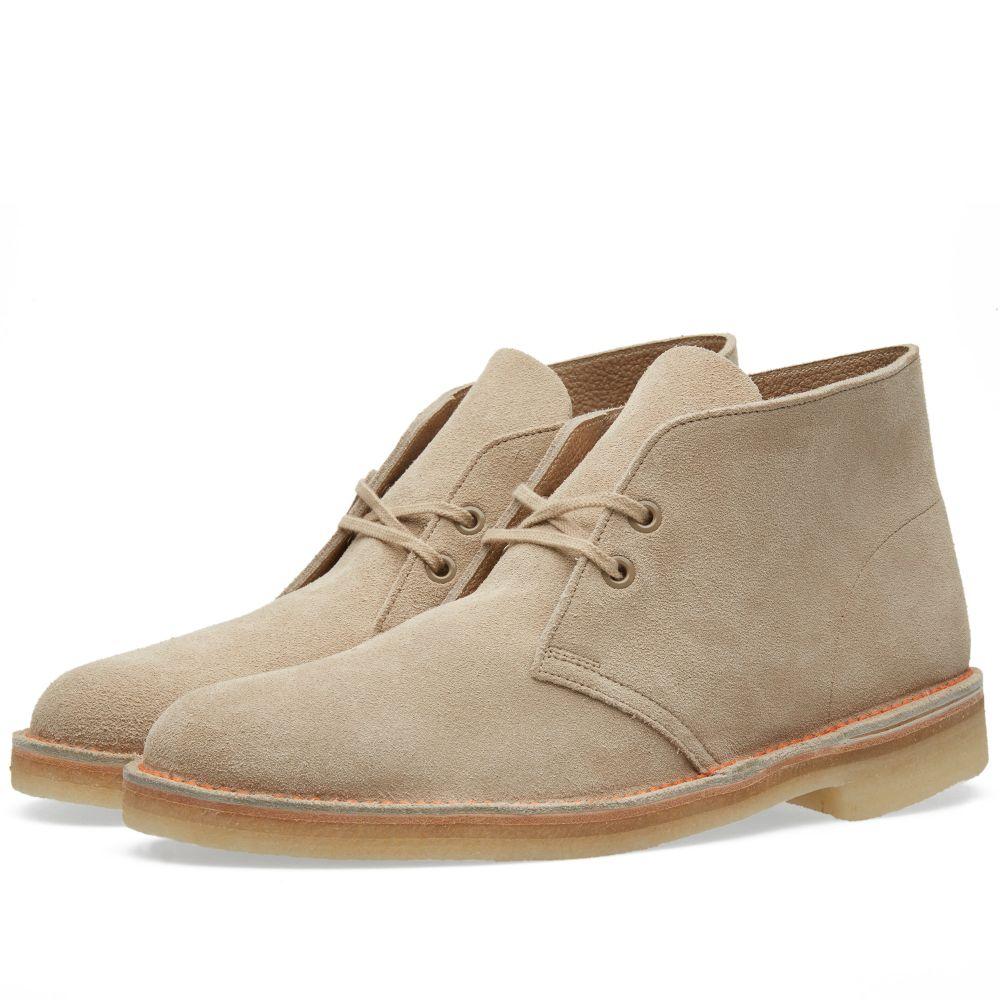 725249582 Clarks Originals 65th Anniversary Desert Boot - Made in UK Sand