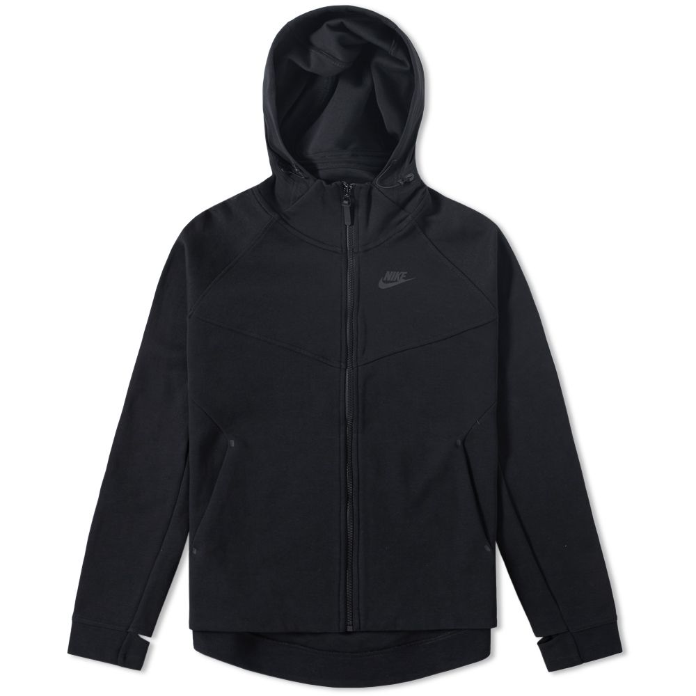 3089b54e19fe Nike Tech Fleece Zip Hoody W Black