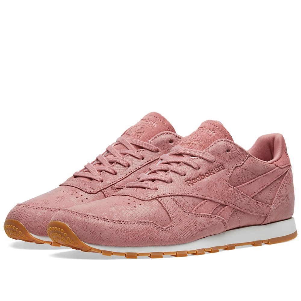 49ab0a0a111 Reebok Classic Leather  Clean Exotics  W Sandy Rose