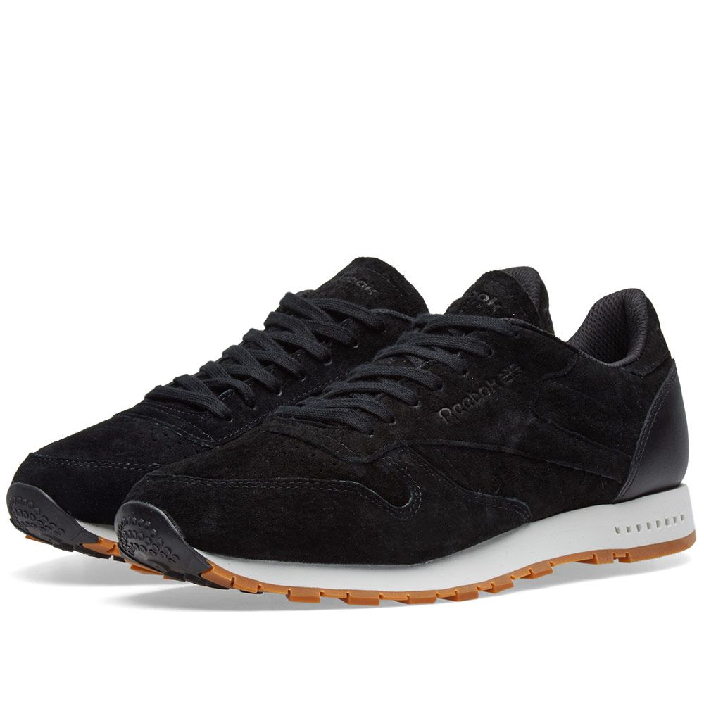 cb34f14402a Reebok Classic Leather SG Black   Chalk Gum
