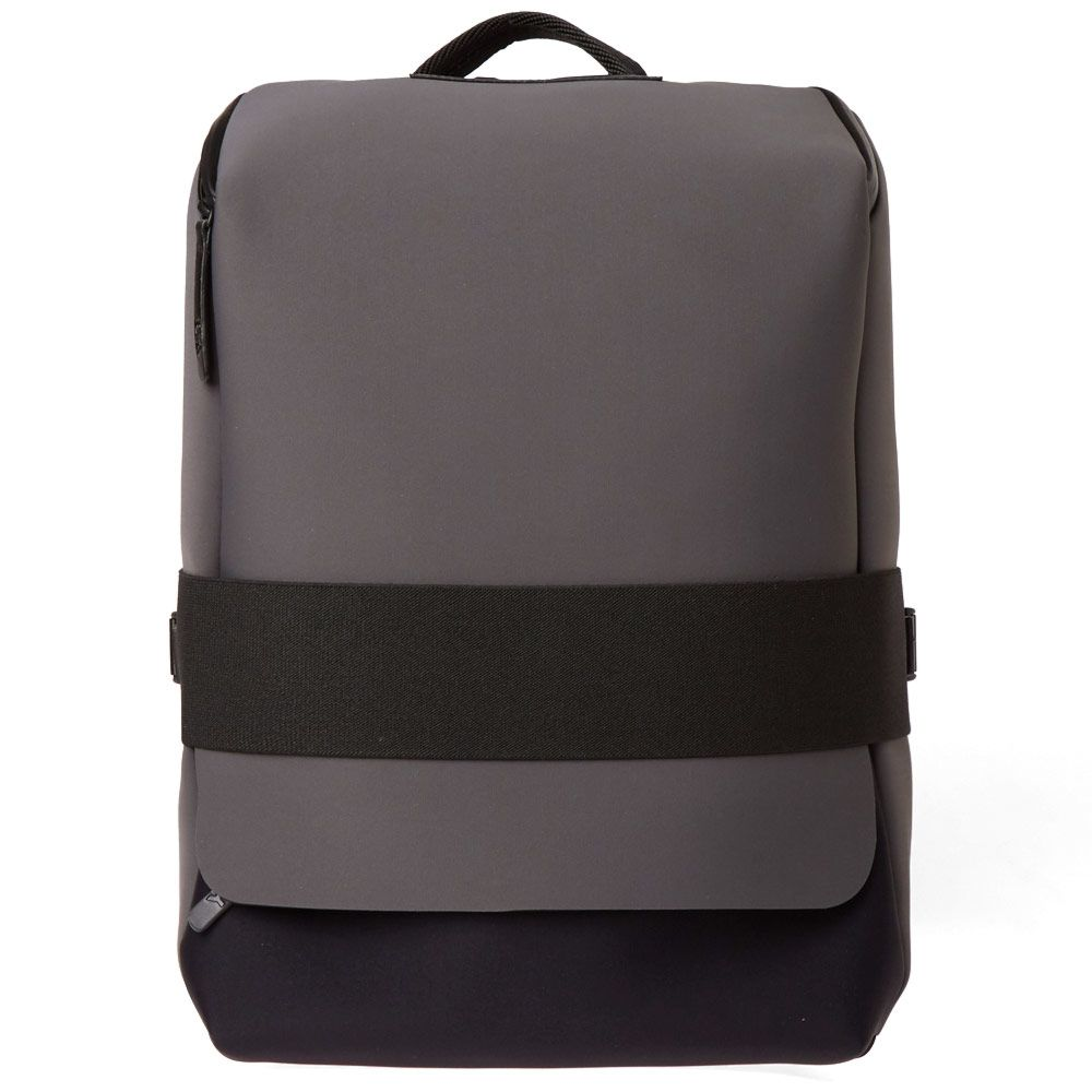 a508a6358336 Y-3 Qasa Small Backpack Solid Grey