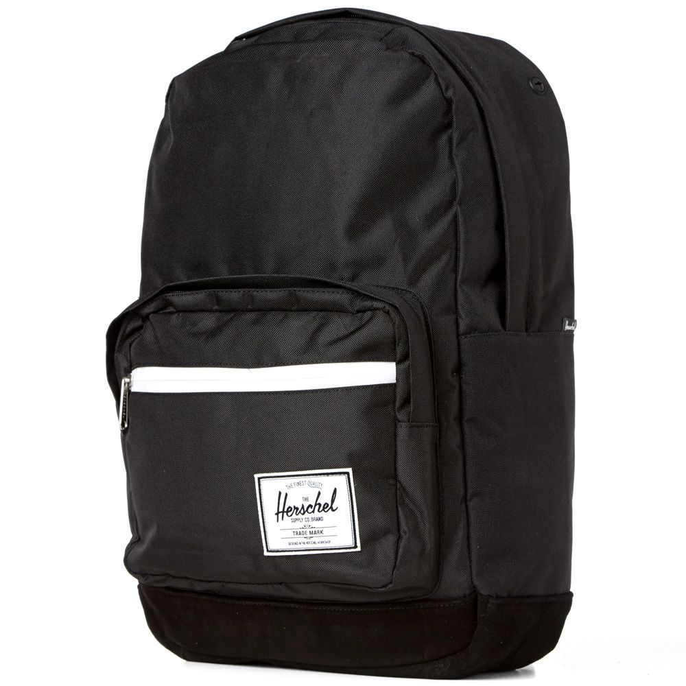 5a02ca2d2abc Herschel Supply Co. Pop Quiz Backpack. Black   Black Suede. S 125 S 75.  image